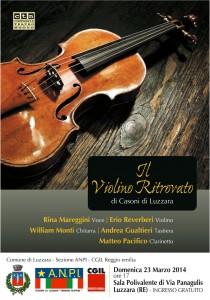 manifesto violino