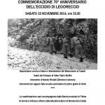 programma Legoreccio 2014 7 nov.