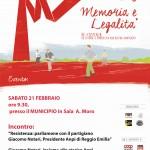 Memoria e Legalità