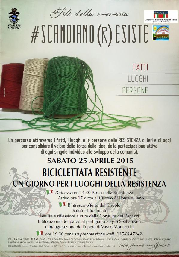 2015 Biciclettata Scandiano