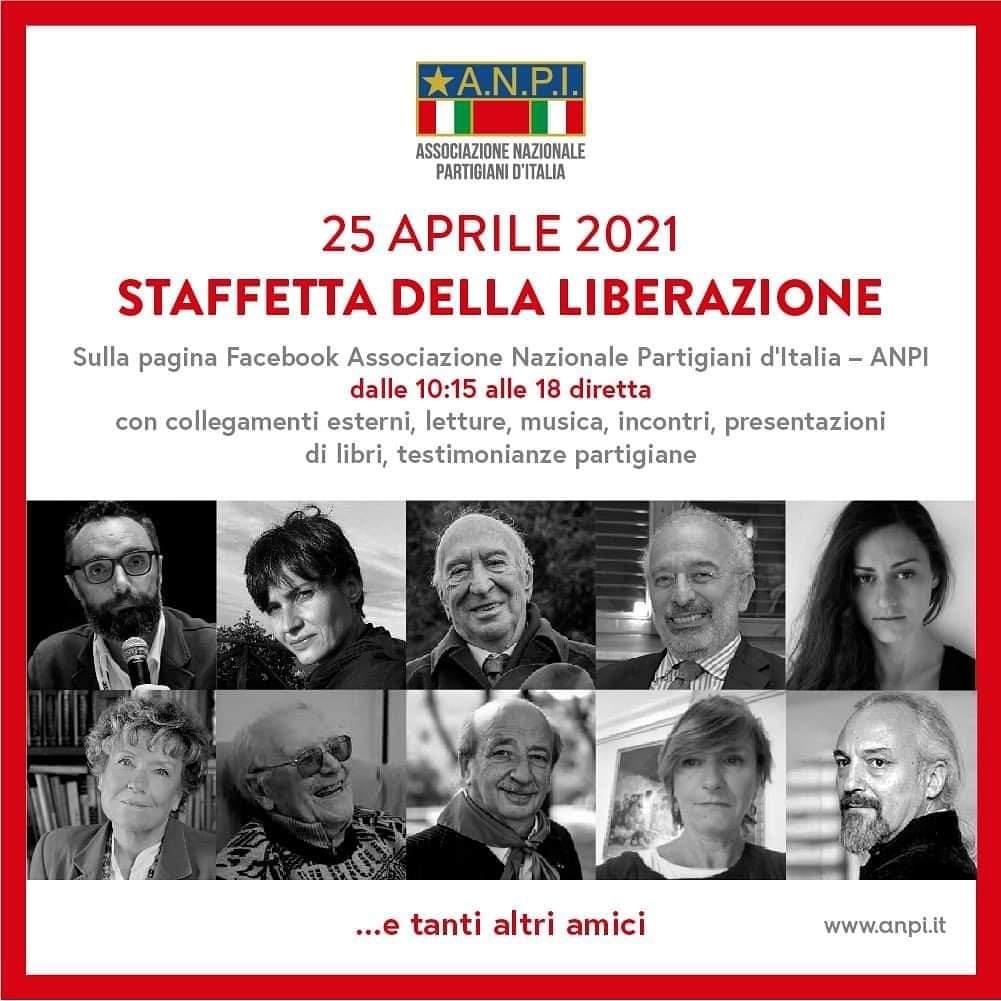 25 APRILE 2021 – STAFFETTA DELLA LIBERAZIONE